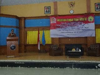 Sosialisasi Pimpinan MPR Kepada BEM Nusantara