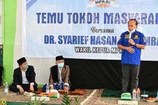 Pandemi Covid-19 Belum Usai, Syarief Hasan Ajak Masyarakat Taat Protokol Kesehatan