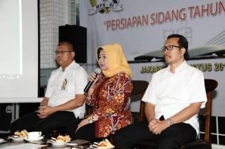 MPR Bahas Persiapan Peliputan Sidang Tahunan dengan Media