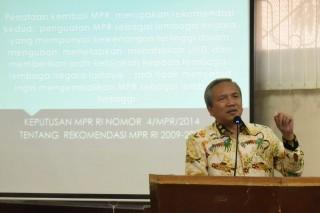 Bambang Sadono : Amandemen Terbatas UUD Tidak Akan Melebar Kemana-mana