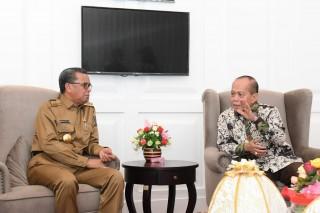 Pimpinan MPR Terima Masukan Gubernur Sulsel Terkait Amandemen Terbatas UUD