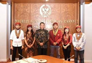Menerima PMKRI, Bamsoet: Pembinaan Ideologi Pancasila Harus Diperkuat di Lingkungan Kampus