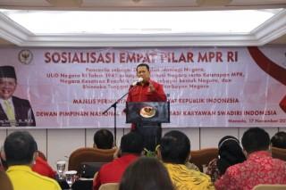 Sosialisasi Empat Pilar MPR RI,  Bamsoet: Merawat Kebhinekaan Kunci Tetap Berdirinya NKRI
