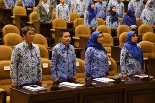 Musyawarah VIII KORPS Pegawai Republik Indonesia Sekretariat Jenderal MPR RI, Jakarta (Rabu, 23 Januari 2019)