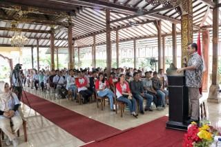 Wakil Ketua Pimpinan MPR RI H.Ahmad Muzani Sosialisasi 4 Pilar MPR RI dengan SAPMA Pemuda Pancasila, Tangerang Selatan (Sabtu, 23 Maret 2019)
