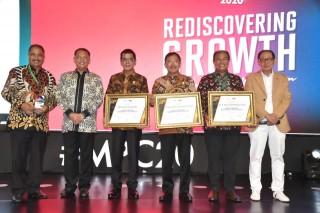 Ketua MPR RI H. Bambang Soesatyo, S.E., M.B.A. menghadari acara Opening The MarkPlus Conference 2020 di Ballroom - The Ritz - Carlton Jakarta (Jakarta, 3 Desember 2019)