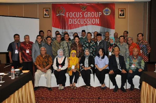 Focus Group Discussion ( FGD) Lembaga Pengkajian MPR RI Di Hotel Java Paragon, Surabaya - 24 November 2016