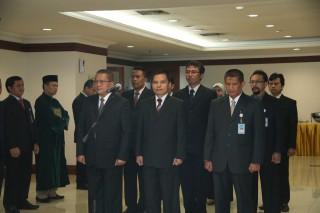 Pelantikan Pejabat Struktural Sekretariat Jenderal MPR RI