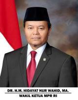 Dr. H.M. HIDAYAT NUR WAHID, M.A.
