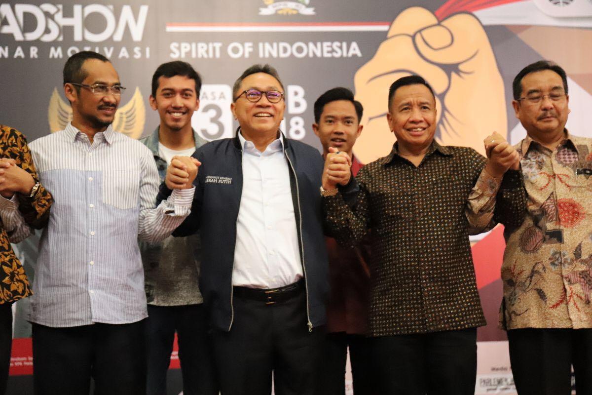 Hadapi Upaya Adu Domba, Ketua MPR Pimpin Deklarasi Gerakan 'Kami Indonesia'