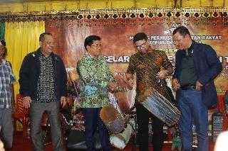 MPR Dan Pemkab Aceh Tenggara Pentaskan  Seni Beragam Etnik Di Kutacane
