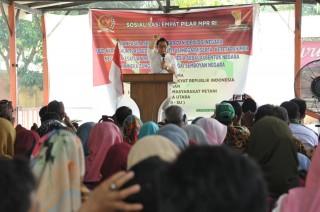 Wakil ketua MPR RI Muhaimin Iskandar Sosialisasi 4 Pilar MPR RI dengan Himpunan Masyarakat Petani Sumatera Utara di Serdang Bedagai ,Medan (Sabtu, 9 Maret 2019)