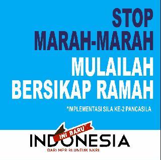 Stop Marah-Marah Mulailah Bersikap Ramah