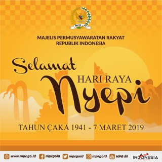 Selamat Hari Raya Nyepi Tahun 2019